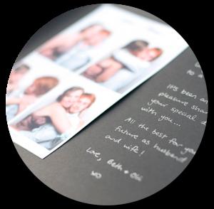 Alquiler espejo mágico - Libro de firmas