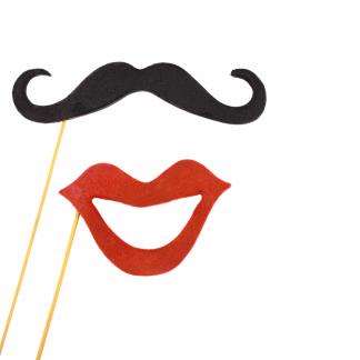 Bocas + bigotes