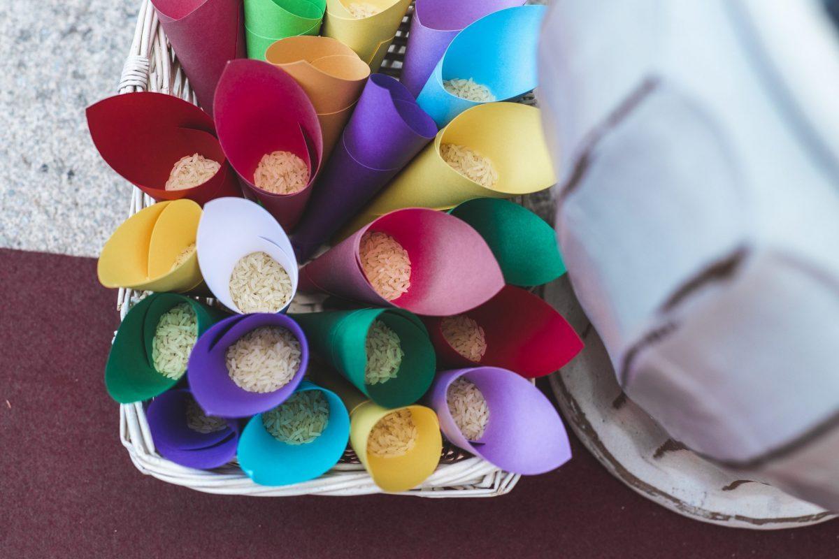 Lanzar arroz en las bodas, 8 alternativas divertidas y originales fotomaton para bodas